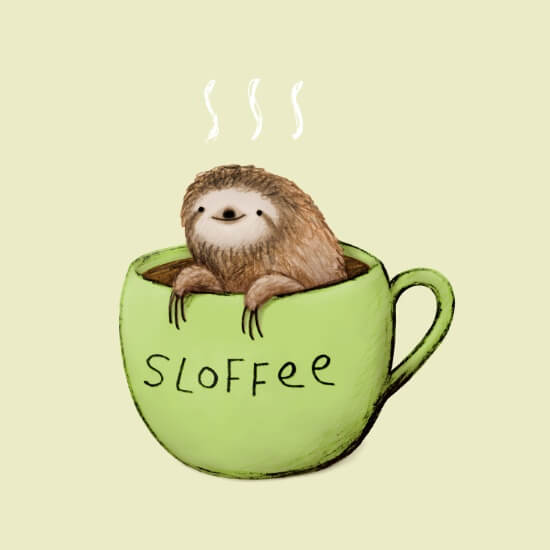 Meet Artists Making Passive Income with Art: Sloffee by Sophie Corrigan