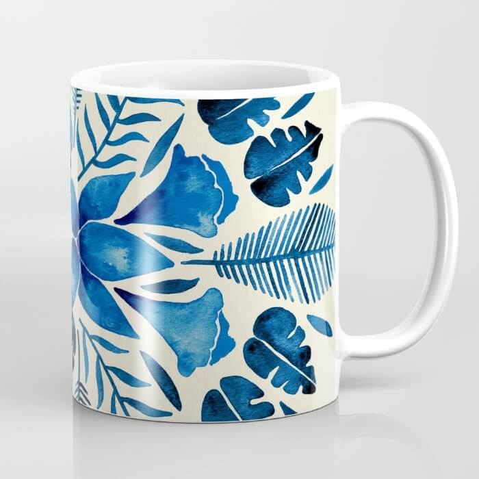 Learn How Artist Cat Coquillette Makes Passive Income With Her Art: Tropical Symmetry by Cat Coquillette