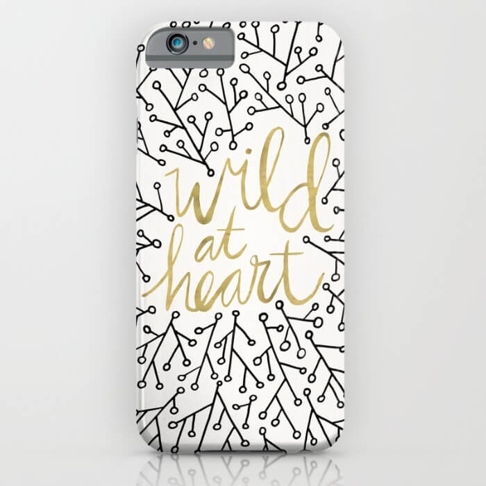 Learn How Artist Cat Coquillette Makes Passive Income With Her Art: Wild at Heart phone case by Cat Coquillette