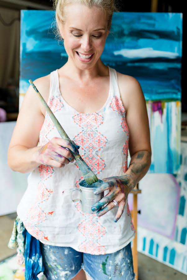 Artist Heather Kirtland