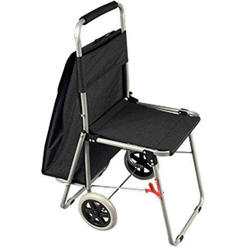 The ArtComber Folding Big Wheeled Portable Rolling Chair
