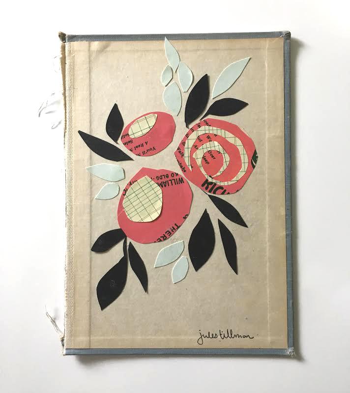DIY Florals: Art Collage Project by Jules Tillman
