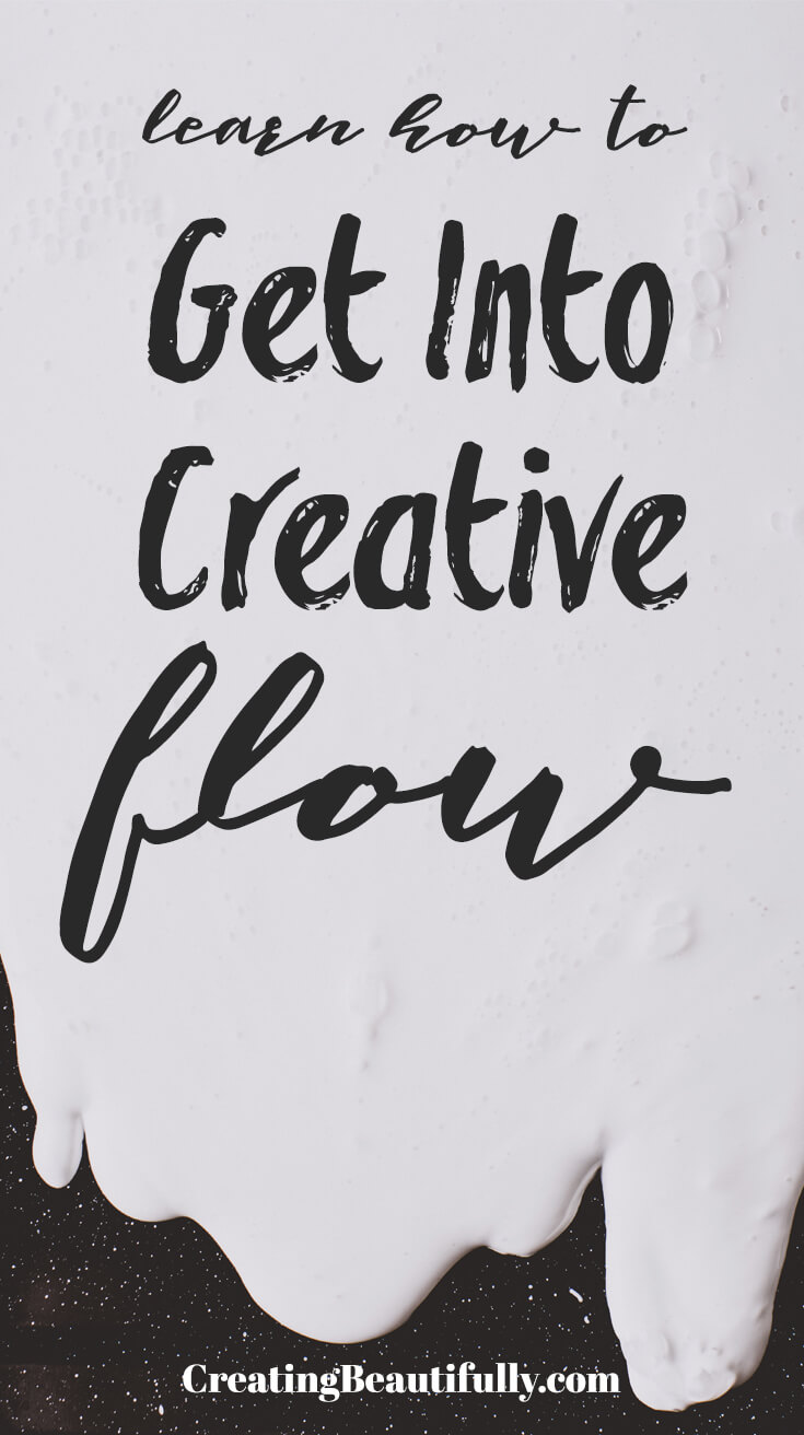 Getting Into Creative Flow doesn't have to be hard! In fact, it should come easy. Learn how you can start getting into creative flow today!