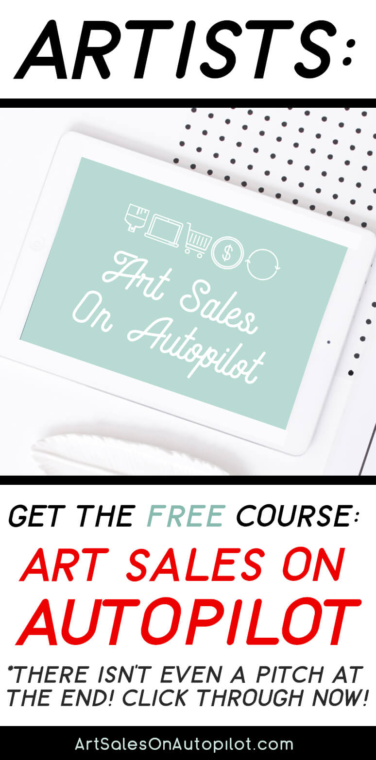 Grab this free course about selling art online for Where can i sell paintings online