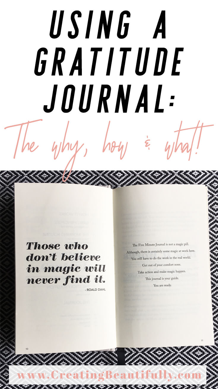 Why use a gratitude journal: the why, how, and what! Using a gratitude journal every day has all kinds of benefits, like more happiness, more optimism, and I think you'll be surprised by this one new benefit of having a gratitude practice...
