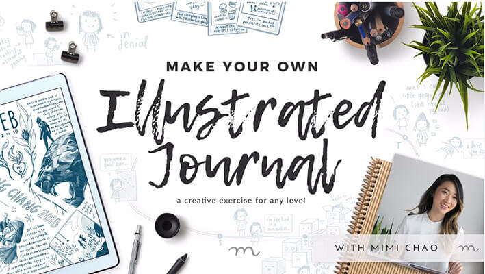 20+ Creative Business Classes You Can Take On Skillshare: Draw Your Life: Intro to Illustrated Journaling | A creative exercise for any level!