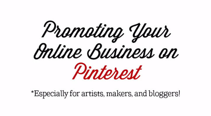 20+ Creative Business Classes You Can Take On Skillshare: Promoting Your Online Business on Pinterest (Especially for artists, makers, and creatives!)