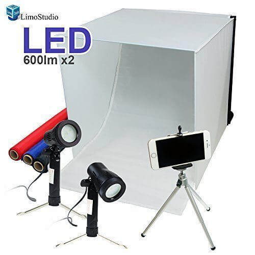 Tools for etsy sellers: LimoStudio Table Top Photo Photography Studio Lighting Kit is surprisingly affordable! #etsytips #sellingonetsy