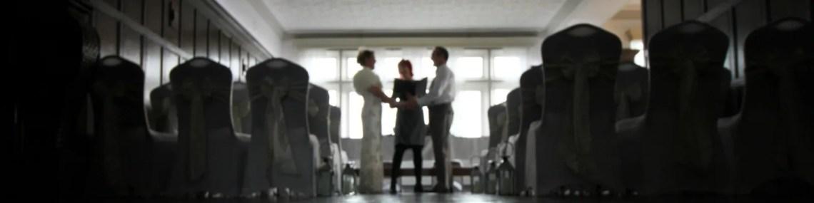 Wedding celebrant Claire Bradford
