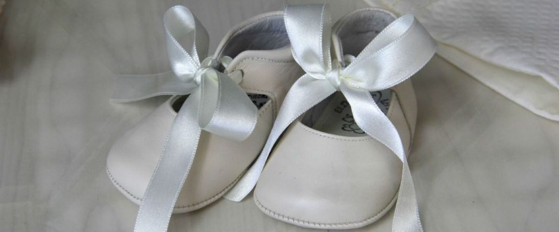 baby shoes for a baby naming ceremony