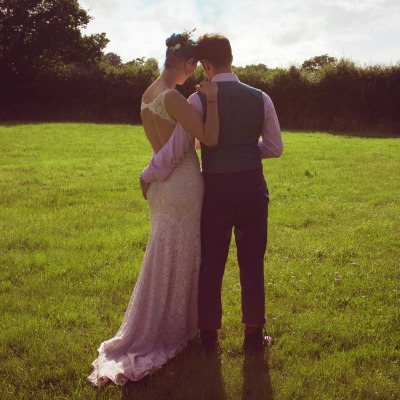 Meghan and Robin's Forevering Festival in a Field