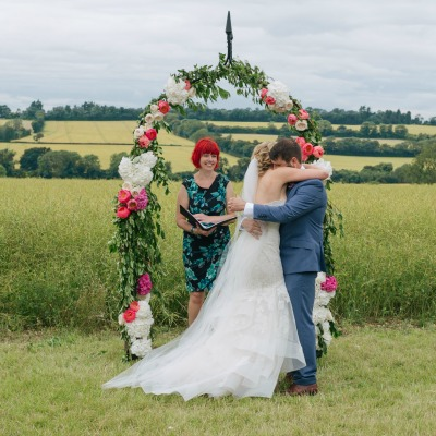 Kerry and Ben's Romantic Cornfield Wedding