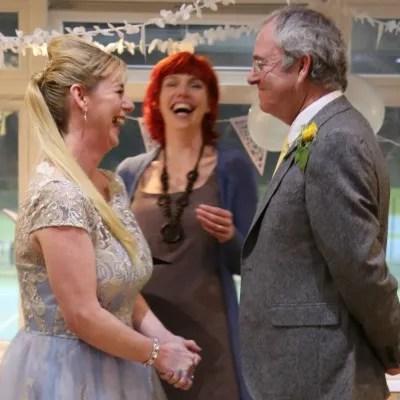 Worthing evening wedding celebrant Claire Bradford
