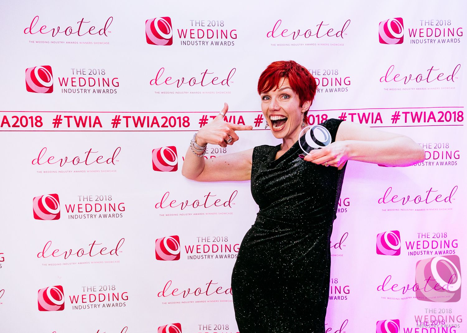 Wedding celebrant of the year in the Wedding Industry Awards South East region