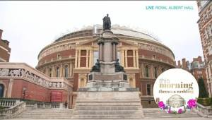This Morning Wedding live Royal Albert Hall celebrant Claire Bradford