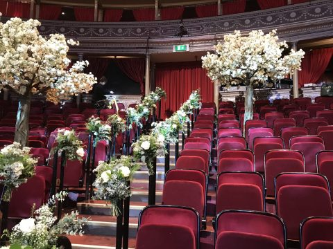 This Morning wedding Royal Albert Hall celebrant Claire Bradford Sussex