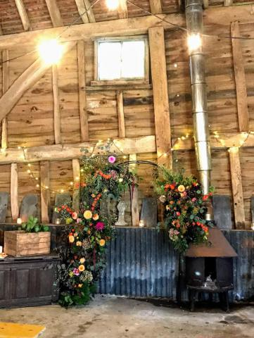 The Secret Barn: 10 awesome wedding venues in and around Worthing ~ Sussex celebrant Claire Bradford of Creating Ceremony