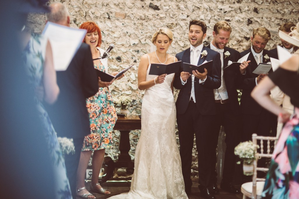 10 reasons to have a group song at your wedding ~ Sussex celebrant Claire Bradford of Creating Ceremony