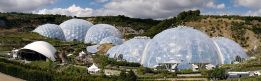 Eden Project, domes use ETFE pillows