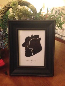 Your New Friend Sam Papercut Dog Silhouettes