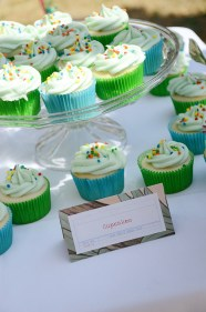Storybook Baby Shower Cupcakes