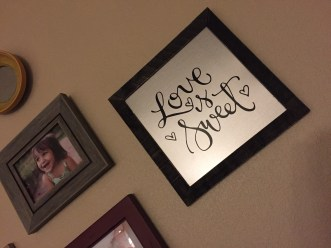 Sam Allen Creates for Hobby Lobby - Love is Sweet -Trisha