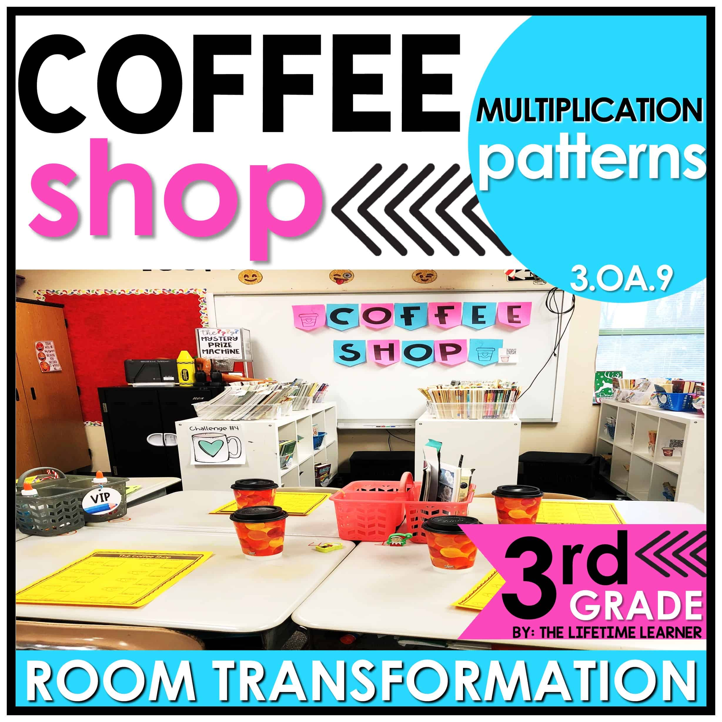 Multiplication Patterns   Coffee Shop Classroom Transformation - The  Lifetime Learner [ 2456 x 2456 Pixel ]