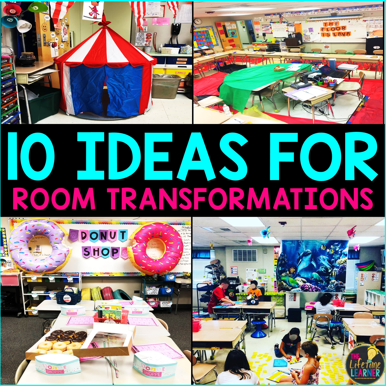 Top 10 Classroom Transformation Ideas - The Lifetime Learner [ 2456 x 2456 Pixel ]