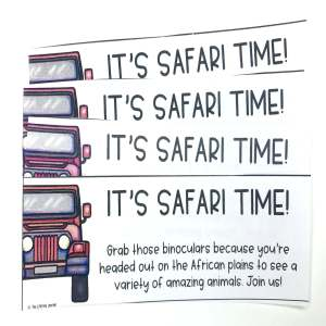 back to school classroom transformations safari