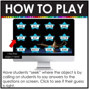 digital hide and seek directions how to find the object