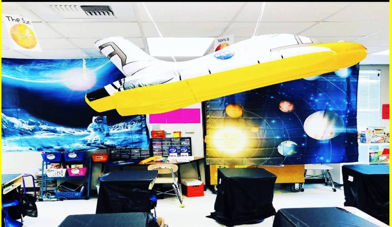 Space Classroom Transformation