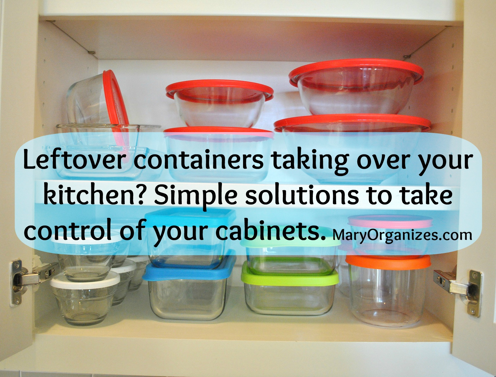Too Many Leftover Containers! \u0026 A Little Bit About Organizing ...