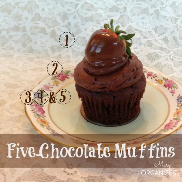 Five-Chocolate Muffins