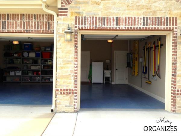 Garage front