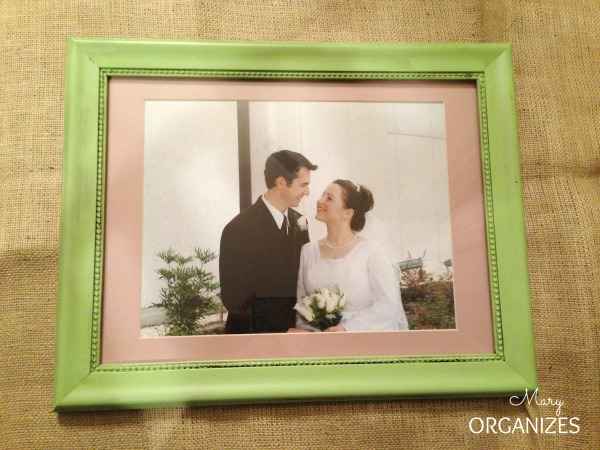 This frame needs a matting makeover