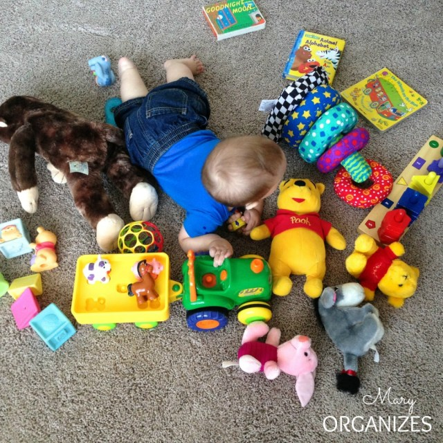 Organized toys are good for mom and good for kids