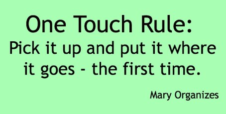 One Touch Rule