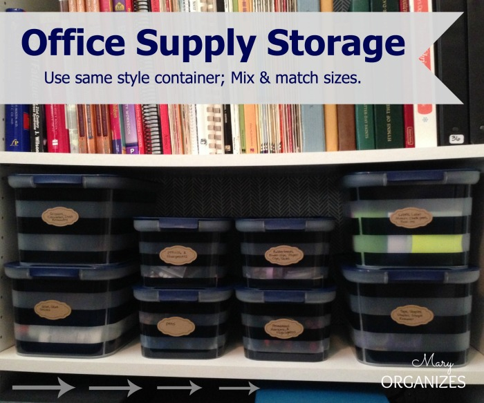 Office Supply Storage