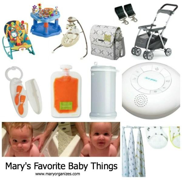 My Favorite Baby Things