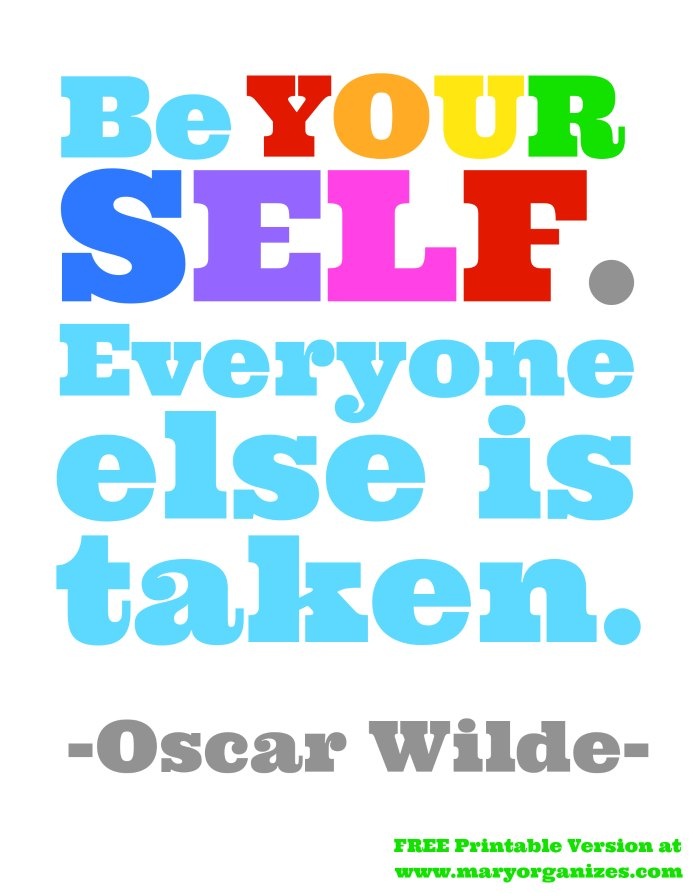 graphic regarding Printable Yardstick identify Oscar Wilde Quotation Absolutely free Printable Artwork Present Yardstick