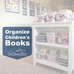 Organize Early Reader Novels and Novel Series