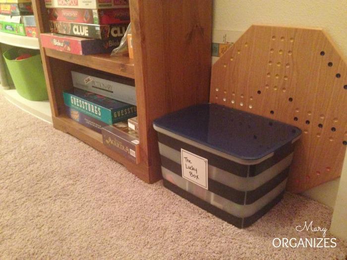 Where I keep my Lucky Box
