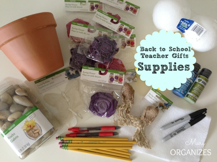 Back to School Teacher Gifts - Supplies