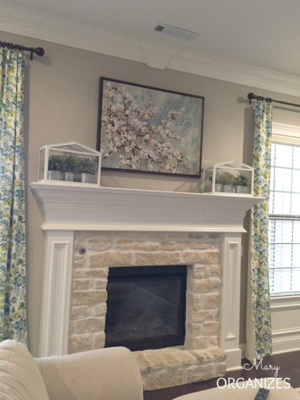 the mantel art before