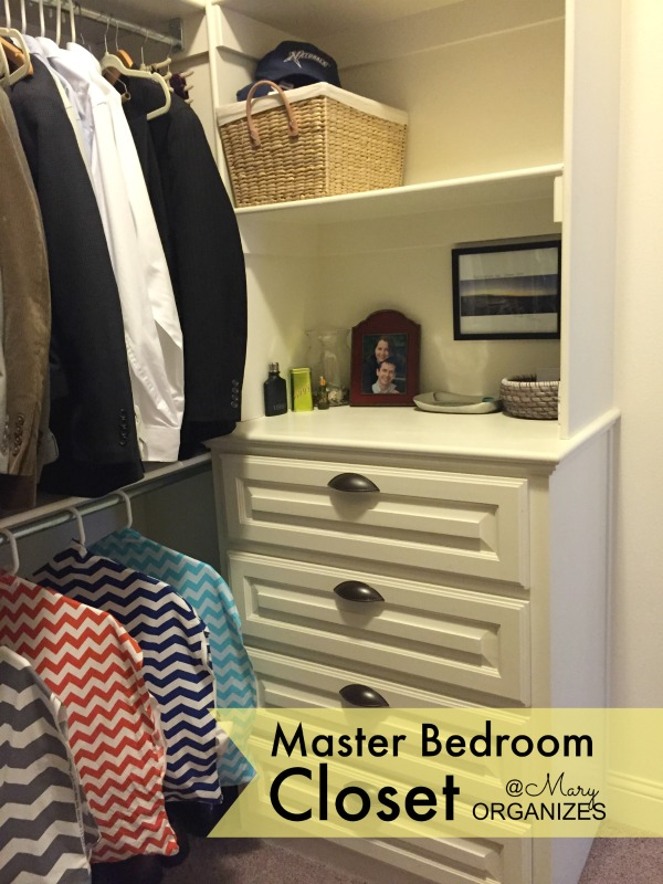 MBR Closet - Matts drawers and shelves