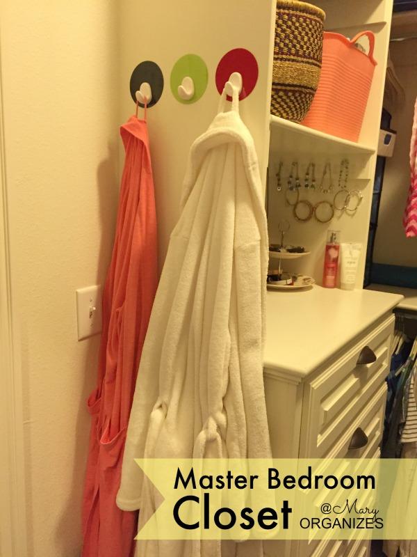 MBR Closet - Robe Storage