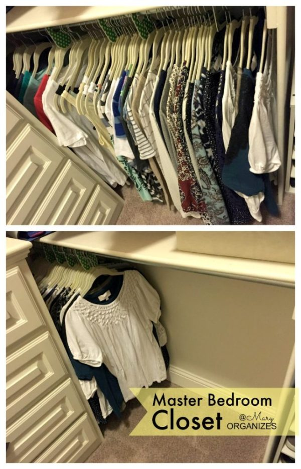 MBR Closet - less clothes than it appears