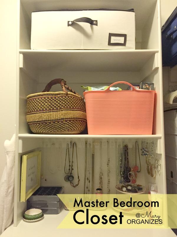 MBR Closet - my shelves