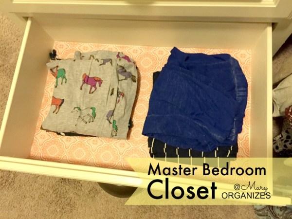 MBR Closet - pj pant drawer