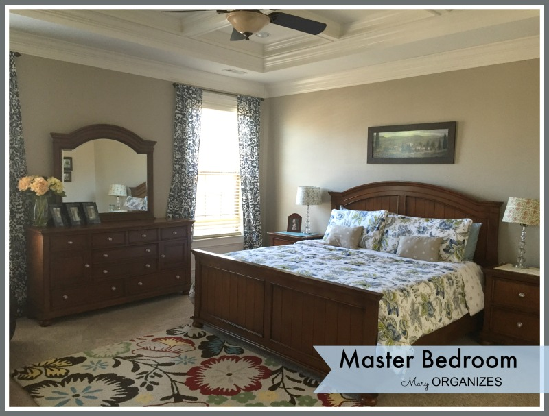 Mary ORGANIZES - Master Bedroom